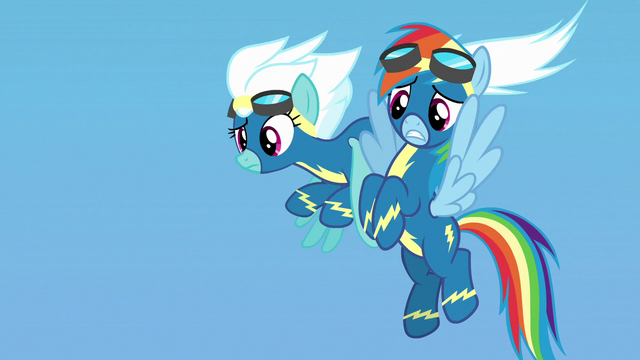 File:Rainbow embarrassed by her parents' cheering S7E7.png