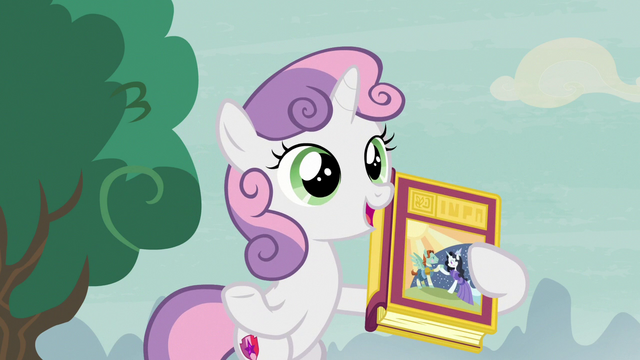 """File:Sweetie Belle """"guaranteed a happy ending"""" S7E8.png"""