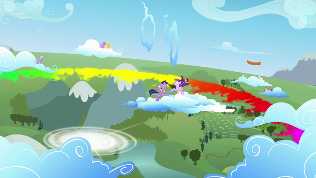 File:Twilight, Spike, and Starlight look above S5E26.png