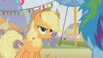 Applejack serious face S01E13