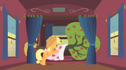 Applejack taking care of Bloomberg S01E21.png
