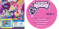 My Little Pony Equestria Girls - Rainbow Rocks CD