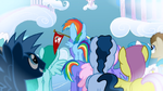 Filly Rainbow Dash looking S3E12