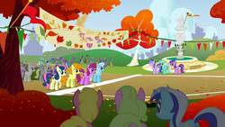 The Running of the Leaves start line S01E13.png