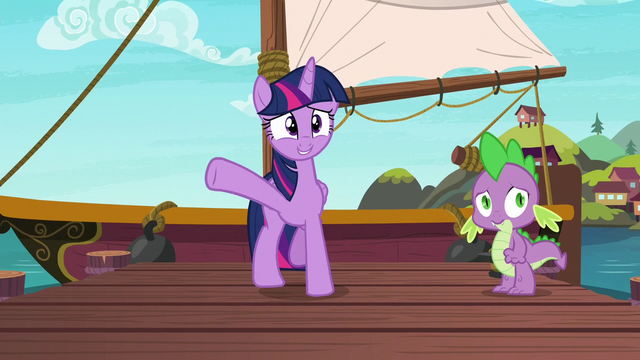 """File:Twilight Sparkle """"if you come on the boat with me"""" S6E22.png"""
