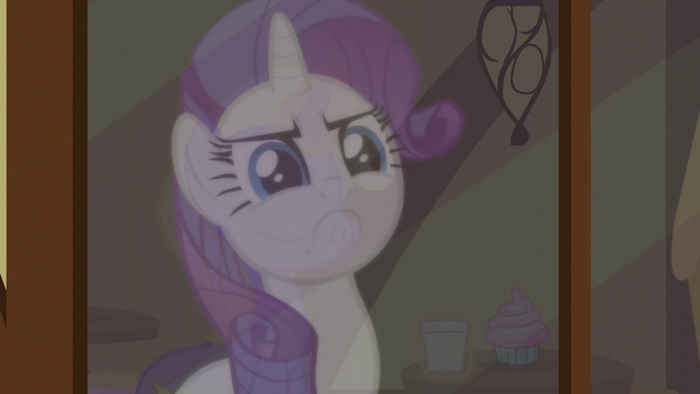 File:A reflection of Rarity looking serious S5E19.png