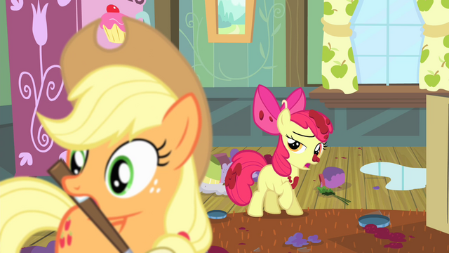 "File:Apple Bloom ""this was kind of your fault"" S4E17.png"