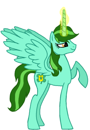 FANMADE Princess Luckwing OC