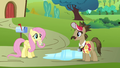 Globe Trotter asking Fluttershy for directions S2E19.png