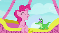 "Pinkie Pie ""would officially calm me down"" S7E11"