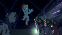 Rainbow scared of her zombified friends S6E15