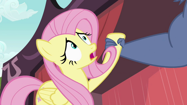 File:Iron Will lifts Fluttershy up S02E19.png