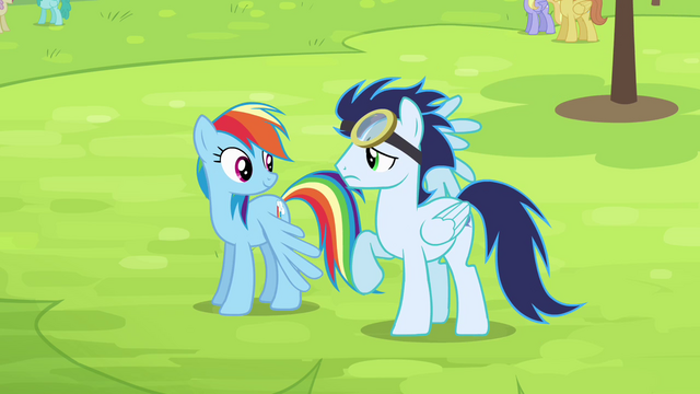 File:Rainbow and Soarin on the ground S4E10.png