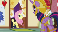 "Fluttershy ""meet me at my cottage in an hour"" S5E21"