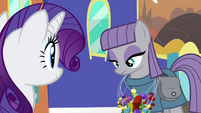 Maud wearing Mane 6's candy necklaces S4E18