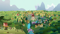 Ponyville zoom-out S02E23.png