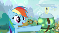 "Rainbow ""That means Ponyville is next up for winter!"" S5E5"