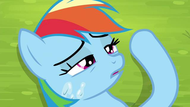 File:Rainbow Dash gains consciousness S4E22.png