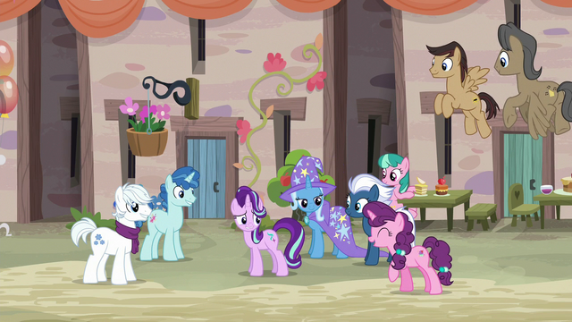 """File:Sugar Belle """"how is it living in a castle?"""" S6E25.png"""