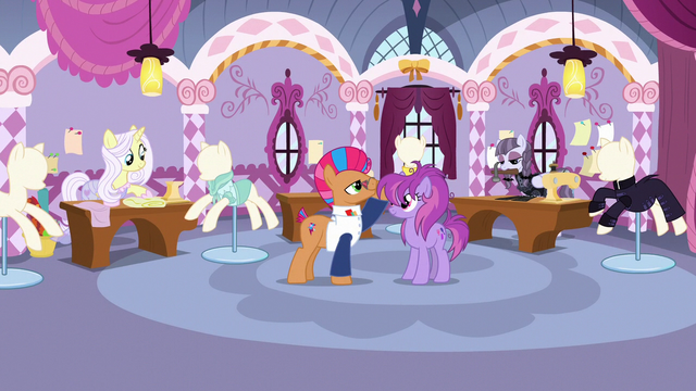 File:Contest ponies continue preparing their designs S7E9.png