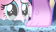 Pinkie Pie sad about crushed rock farm S5E1
