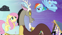 "Rainbow Dash accuses Discord ""yeah, right!"" S4E01"