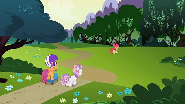File:Scootaloo & Sweetie Belle 7 S2E6.png