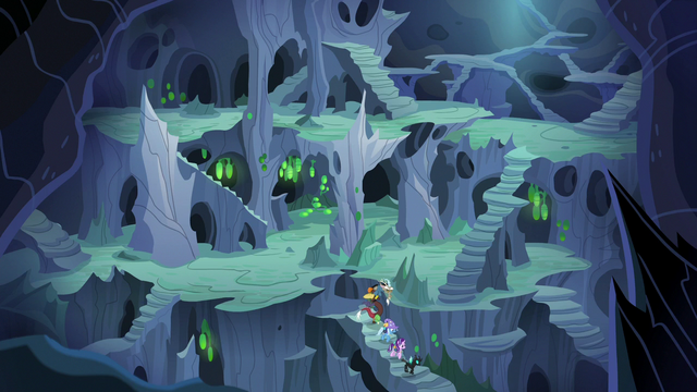 File:Starlight and company exploring the hive S6E25.png
