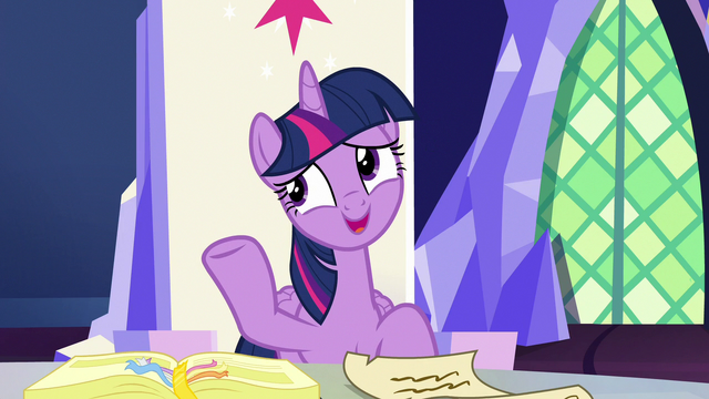 """File:Twilight Sparkle """"that's not an official position"""" S7E11.png"""
