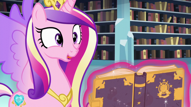 "File:Cadance ""I can't believe we found it!"" S6E2.png"