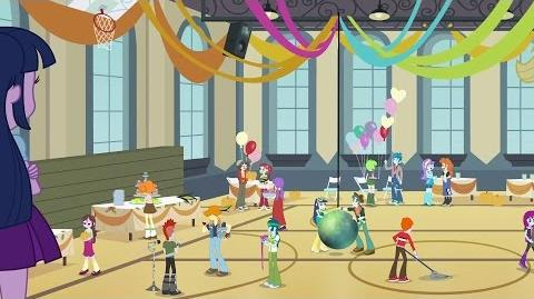 Danish Equestria Girls Time To Come Together HD