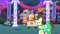 Fine Line walks by Applejack's stand S1E26.png