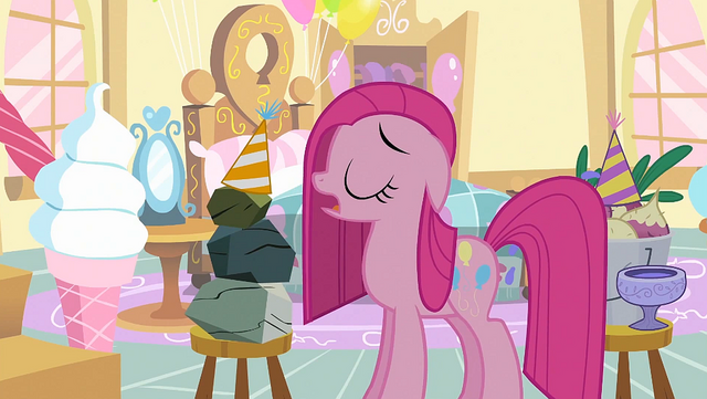 File:Pinkie Pie 'Why, thank you, Rocky' S1E25.png