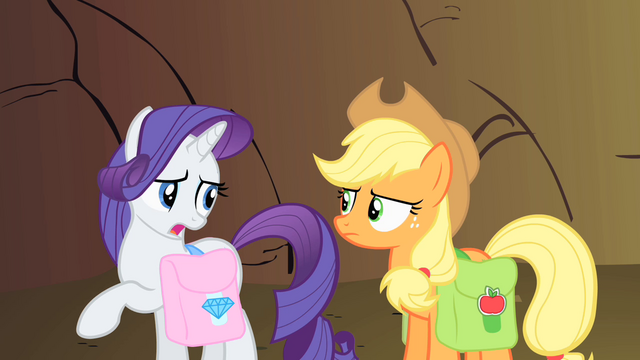"File:Rarity ""Gently, please!"" S1E21.png"