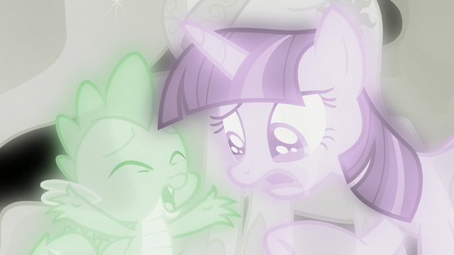 File:Spike tells Twilight Sparkle to snap out of it S7E1.png