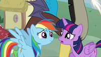 "Twilight ""What's going on here?"" S5E22"