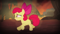 Apple Bloom going back for the cart S4E17