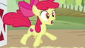 Apple Bloom jumping with shock S6E23.png
