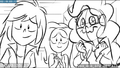 EG3 animatic - Rainbow, Fluttershy, and Pinkie supporting Sunset.png