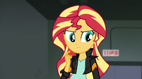 Sunset Shimmer in thought EG3