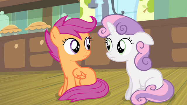 File:Sweetie and Scootaloo looking at each other S4E17.png