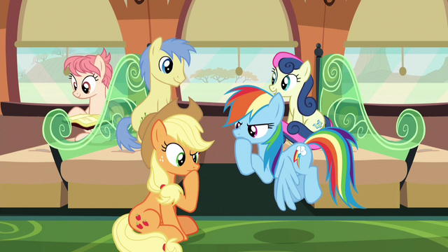 File:Applejack and Rainbow in deep thought S6E18.png
