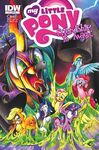 Comic issue 4 cover RI