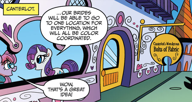 File:Friends Forever issue 19 Canterlot's Wonderous Bolts of Fabric.jpg