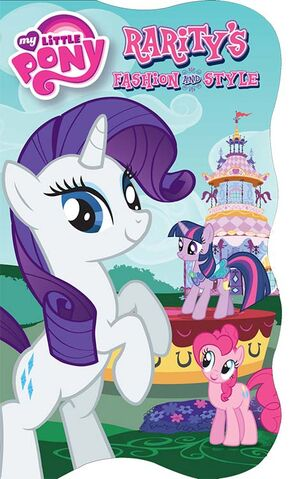 File:MLP Rarity's Fashion and Style storybook cover.jpg