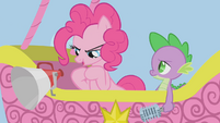 Pinkie Pie rubbing her hooves S1E13