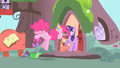 Pinkie Pie singing to Twilight S1E25.png