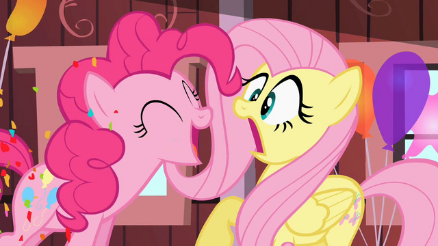 File:Pinkie Pie startles Fluttershy S2E14.png