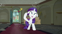 Rarity about to lose her mind S6E9