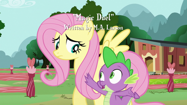 File:Spike talks to Fluttershy S3E05.png
